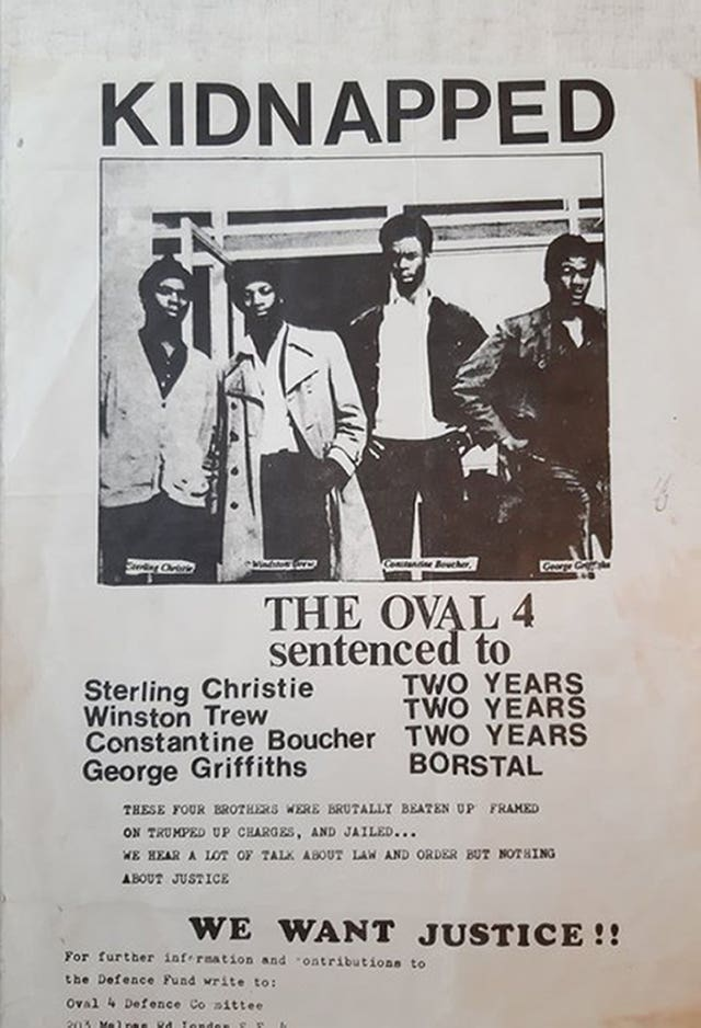 Oval Four court case